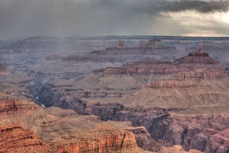 Grand Canyon before storm Stock Photo - 14035341