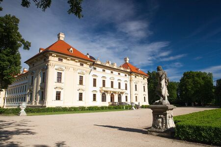 austerlitz: Castle in Slavkov - Austerlitz near Brno, Czech Republic Editorial