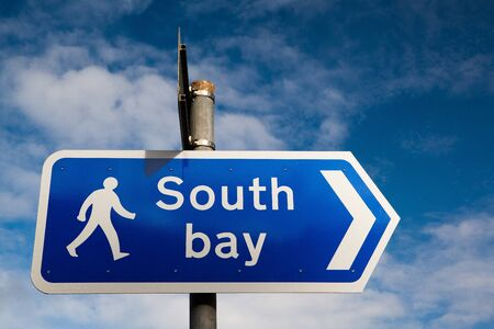 The traffic sign - South bay photo
