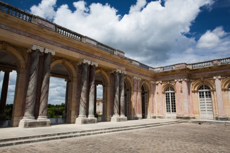 Le Grand Trianon in the park of Versailles Palace
