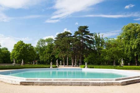 austerlitz: The garden in Slavkov Castle - Austerlitz near Brno, Czech Republic