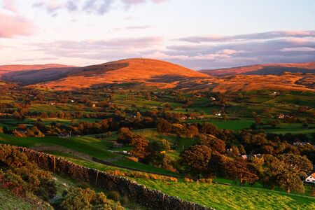 Sedbergh - small town in Yorshire Dales National Park  photo