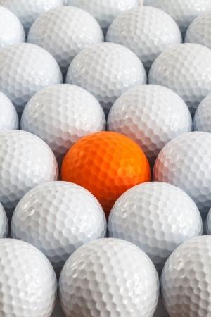 golf balls: White golf balls in the box