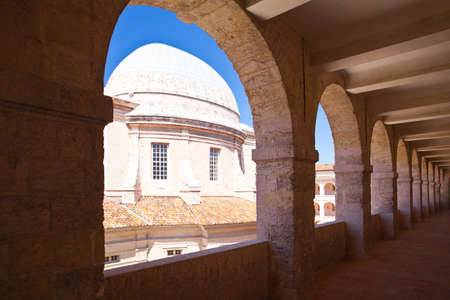 almshouse: The Ancient Hospital Vieille Charite in Marseille