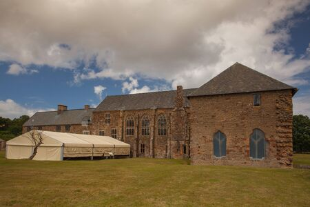 abbeys: Renovated Cleve Abbey in Great Britain Editorial