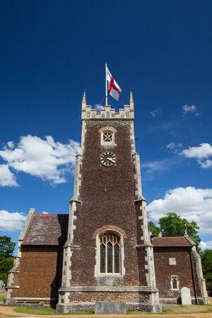 abbeys: St Mary Magdalene church on the Royal Sandringham estate in Norfolk in Great Britain