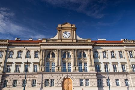 barracks: Old barracks nearby Prague Castle