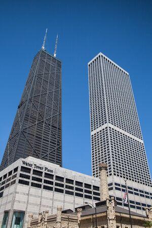 john hancock: CHICAGO - JUNE 7  John Hancock Center on June 7, 2013 in Chicago Chicago Editorial