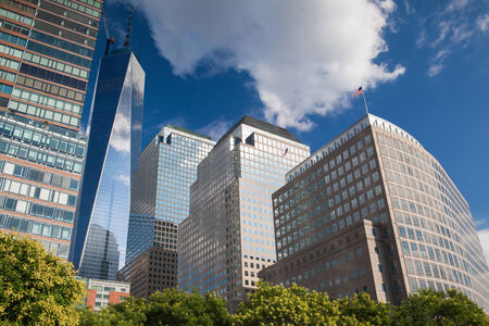 headquaters: Battery Park is a 25 acre public park located at the Battery, the southern tip of Manhattan Island in New York City Editorial