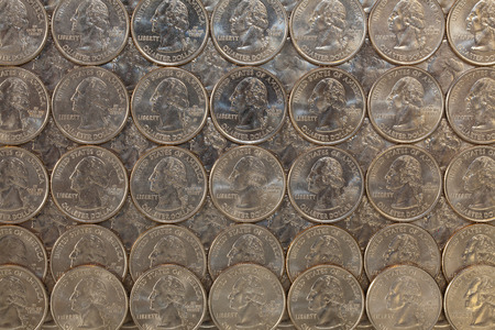 numismatic: Background from US dollars coins