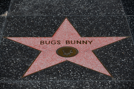 bugs bunny: Bugs Bunny star on Walk of Fame in Los Angeles