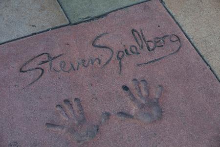 Steven Spielberg autograph Stock Photo - 26359334