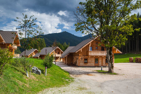 Almwelt Austria is located on the slopes of Pichl The nicely furnished rooms are set in wooden chalets August 24,2013