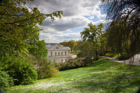 ethnographical: Ethnographical Museum in the park on Petrin hill in Prague