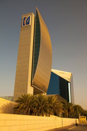 headquaters: Modern skyscraper Emirates NBD, the largest banking group in the Middle East in terms of assets.