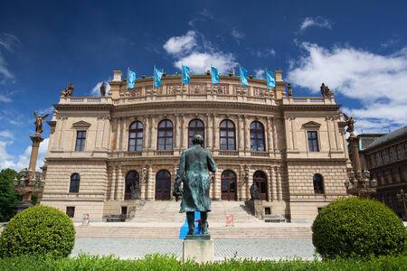 Prague Spring International Music Festival, Rudolfinum Prague, music auditorium and gallery