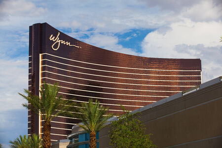 las vegas strip: Las Vegas, USA - JULY 11 ,2011: Wynn Las Vegas is a luxury resort and casino on the Las Vegas Strip in Paradise.The resort covers 215 acres Editorial