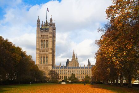 commons: London,England-November 18,2011:The Palace of Westminster - it is the meeting place of the House of Commons and the House of Lords