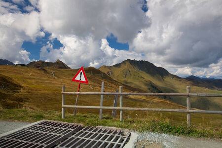 cattle guard: Cattle Guard in the Tyrolean mountains,Austria