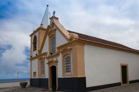 recollection: Small church named imperio in Terceira, Azores Islands