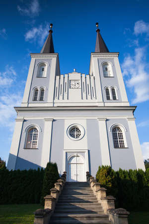 recollection: Renovated church in Vanovice,Czech Republic