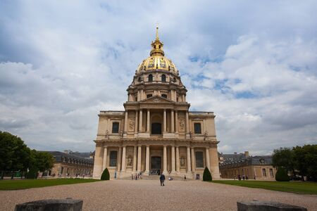 napoleon bonaparte: Paris,France - June 21,2012: Chapel of Saint Louis des Invalides . There is a tomb of Napoleon Bonaparte. National Residence of Invalids - museum relating to military history of France. Editorial