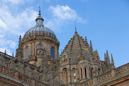 began: New Cathedral of Salamanca, Spain.Building began in 1513 and the cathedral was consecrated in 1733.