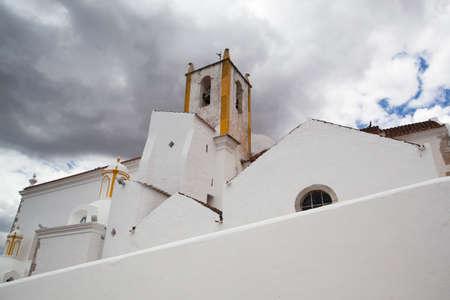 renovated: Renovated historic Church of Santa Maria do Castelo,Tavira, Algarve, Portugal