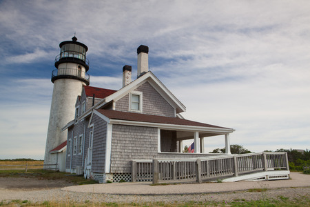 The Highland Light (previously known as Cape Cod Light) is an active lighthouse on the Cape Cod National Seashore in North Truro, Massachusetts.