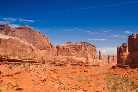 moab: Scenes from famous Arches National Park, Moab,Utah,USA