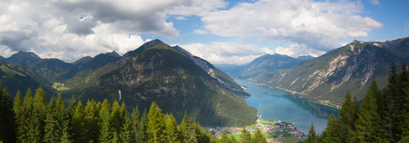 central europe: Achensee Lake in Tirol, Austria, Central Europe - Panorama