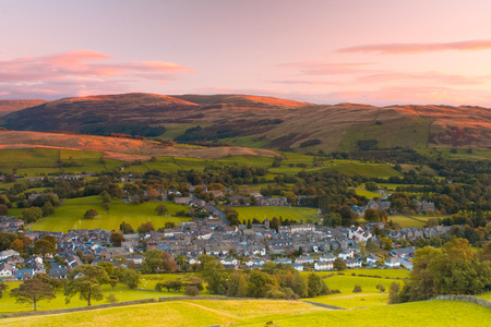 Sedbergh is a small town and civil parish in Cumbria, England. Historically part of the West Riding of Yorkshire Yorkshire Dales National Park
