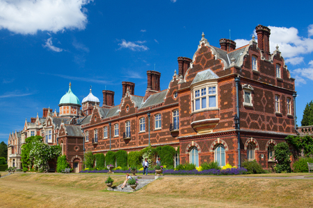 Sandringham,England - July 11,2010: Sandringham House is a country house on 20,000 acres of land near the village of Sandringham in Norfolk, England. Editorial