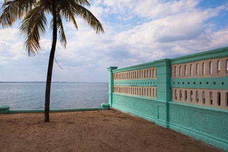 On the beach in Cienfuegos, Cuba