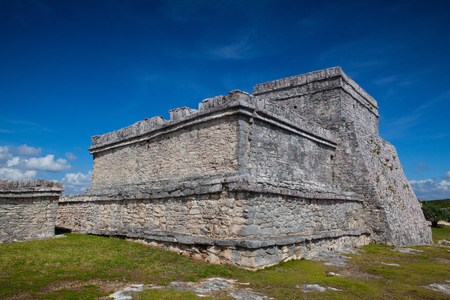 Majestic ruins in Tulum.Tulum is a resort town on Mexicos Caribbean coast. The 13th-century, walled Mayan archaeological site at Tulum National Park overlooks the sea.