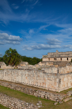 Majestic Kabah ruins ,Mexico. The Kabah Ruins were a shipwreck site located in the Navassa region of the Caribbean.