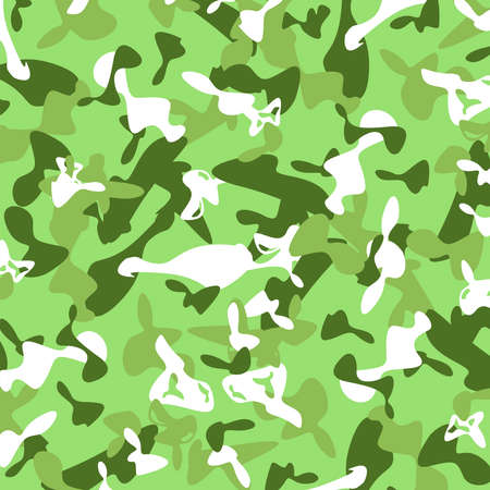 green grunge background: Abstract military camouflage. Green grunge background illustration