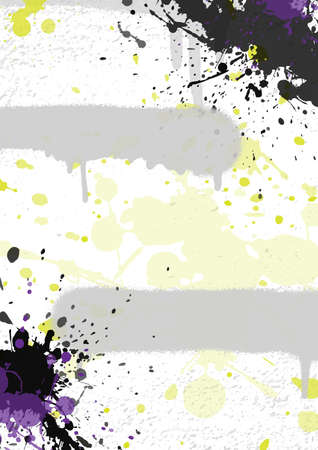 Abstract graffiti background. Backdrop for your design. Vector illustration EPS 10