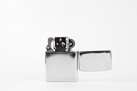 flamme: Lighter with white background