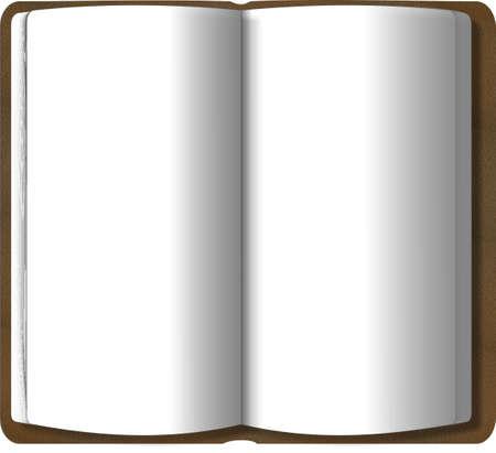 binding: Open book Stock Photo