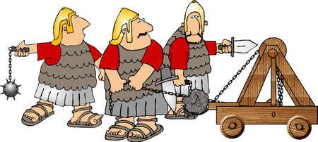 Roman soldiers photo
