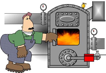 gas man: Boilerman