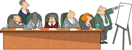lass: Business presentation