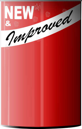 improved: New & improved can