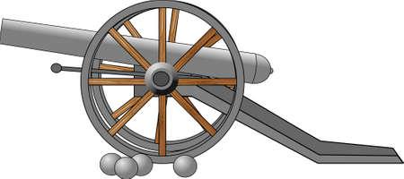 Cannon Stockfoto
