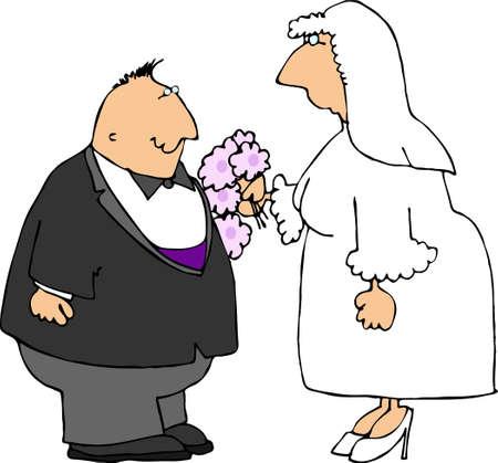 Marriage couple Фото со стока - 376194