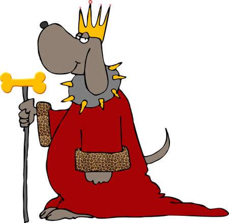 pooch: Dog king