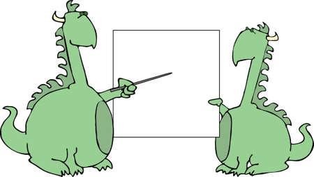 Dragon presentation Stock Photo - 392840