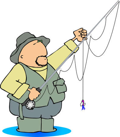 wader: Fisherman