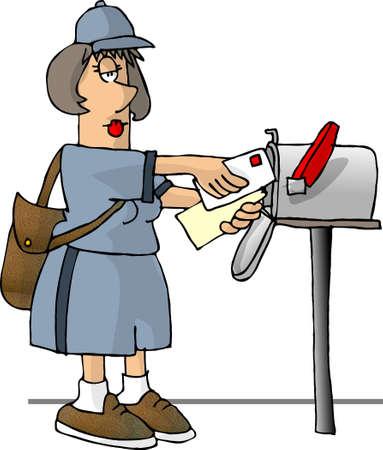 lass: Mailwoman